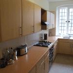 Hitchambury Manor self catering 1st floor kitchen